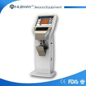 China 2,000,000 pixel Skin analyzer machine digital analysis software polarizing lens on sale