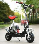 China 49cc 4 Stroke Mini Motor Scooter High Tensile Steel With 10 Inch Pneumatic Tyre wholesale