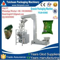 China Automatic machine for packaging suitable 1-5kg all granular,almondsSuch as puffed food, opcorn, seeds and oatmeal etc. on sale