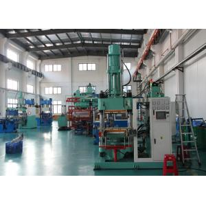 China 4 Column Silicone Rubber Injection Molding Machine 200 Ton All - In - Out Structure on sale