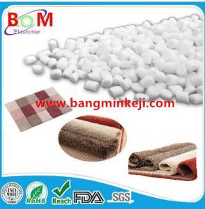 China Carpet backing tpe tpr raw material, compound, pellets, granules for carpet, rug,mat backing/SEBS Based TPE TPR granules on sale