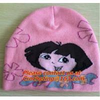 100% cotton, Oversize Knit Cap for children, pictures of knit caps for children, knit hats