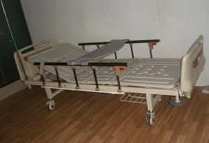 China YE3002A ABS Two-function Hospital Furniture Electric Nursing Bed Medical Care Bed on sale