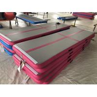 High Quality Durable Cheap inflatable air tumble gymnastic track