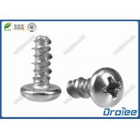China 304/316/410 Stainless Philips Pan Head Hi-Lo Thread Screw for Plastics on sale