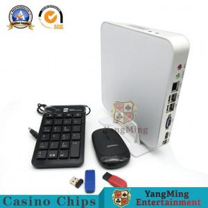 China Casino Road Software Baccarat Gambling Systems Mini PC With Keyboard And Mouse Dragon Tiger System Logo on sale