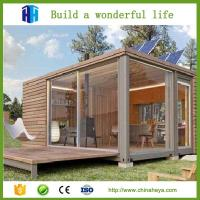 2 Bedroom prefabricated steel frame container house plans modular wood homes