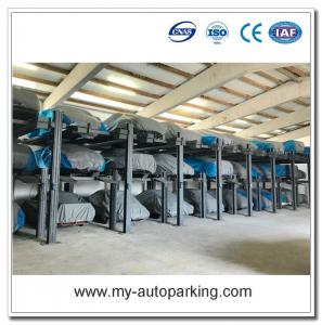 Used 4 Post Car Lift for Sale/Vertical Auto Parking System/Suppliers