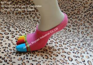 China 2013 lady 144 Ne 5 toe cotton socks on sale