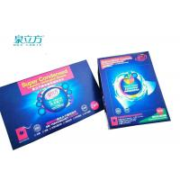 Organic Laundry Detergent Sheets 4 Grams Per Pcs With Light Blue Color