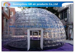 China Hot Air - Sealed Igloo Dome Transparent Inflatable Lawn Tent Clear Bubble Tent on sale