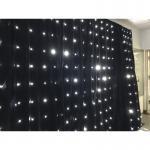 Sky Lighting Fiber Optic event decoration inflatable star Led Stage Lighting