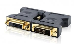 China Gold plated DVI 24+1 male to female adapter1080P PC MAC ADAPTER CONVERTER HD on sale