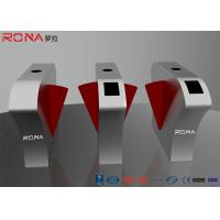 China RONA 2 Lanes Flap Barrier Gate Security Solutions Access Control 40 Persons / Min on sale