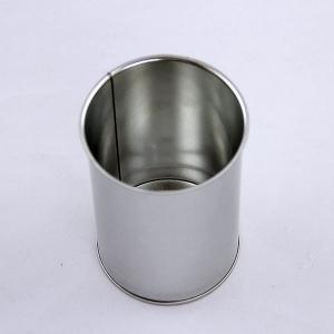 China Custom Coffee Tin Box With Airtight Lid , Colorful Airtight Coffee Tin Can Food Grade on sale