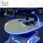9D 360 Degree Rotation VR Slide Platform Virtual Reality Arcade Machine