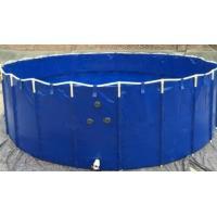 China 7000L Non-Corrosive Tarpaulin Fish Tank , Long Life Diy Fish Pond on sale