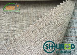 China Goat Hair woven interfacing for jacket , Lining and Interlining with Smooth Handfeeling on sale