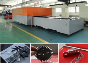 China 60 Hz Fiber Laser Cutter For Sheet Metal Processing / Tube Laser Cutting Machine on sale