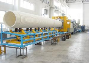 China 32-1500mm PVC Double Wall Corrugated Pipe Extrusion Line SBG1000 UPVC Double Wall on sale