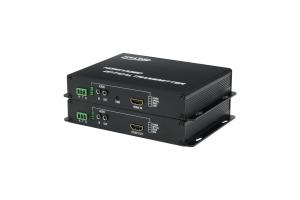 China HDMI Optical Converter +RS232 Video Converter HDMI Audio Video Fiber Converter on sale
