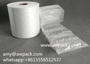 China Custom Printing Inflatable Air Cushion Bag Roll Film with cheapest price on sale