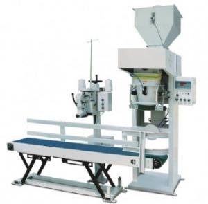 China Gas Drive Pellet Bagging Machine , Quantitative Packing Weigher 10kg-70kg on sale