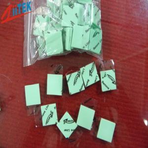 China 超静かに低く熱伝導性のパッドTIF120-20-07U薄緑の5.5 MHzの比誘電率2.0W/mk on sale