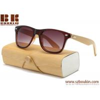Wood Sunglasses Men women square bamboo Women for men women Mirror Sun Glasses 2017 Handmade with case