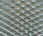 Hot dipped expanded wire mesh used for outdoor protection fence