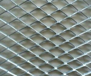 China Customized Galvanized Welded Wire Mesh Pannel , Aluminum Expanded Mesh Plate on sale