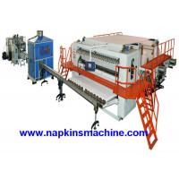 China Fully Automatic Embossing Facial Tissue Machine Production Line Box Package on sale