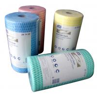 House Cleaning Rags Bamboo Fiber Towel Roll with Viscose and Polyester