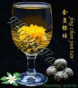 China Jin Zhan Yin Tan Blooming Tea on sale