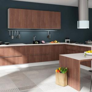 Environmental Friendly Particle Board Kitchen Cabinets With ...