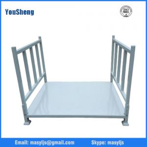 China Warehouse pallet stacking/Warehouse tire storage stacking folding rack/pallet stacking frames on sale
