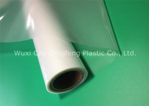 China 635MM Clear Laminating Rolls 80Micron Lamination Film For Cards Documents on sale