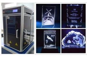 China Crystal Subsurface Laser Engraving Machine with 120*200*100 Engraving Area on sale