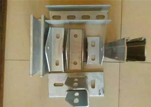 China Galvanized Solar Mounting Accessories Stents Brackets Customized Color Size on sale