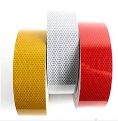 China Custom Printed Reflective Safety Tape , Colored Reflective Tape For Clothing on sale