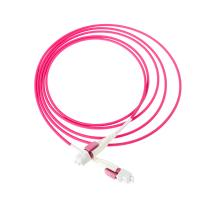 China Duplex Multimode Fiber Optic Cable Uniboot Reverse Polarity OM4 50/125μM Customized on sale