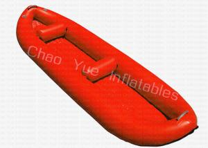 China Professional Hot Welded PVC Inflatable Kayak Boat Durable 400CM X 90CM on sale
