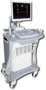 China Economical Cart Color Doppler Digital Ultrasound Scanner 4 Probe Connectors on sale