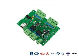 China Web Standalone 2 Doors Access Entry Control Board With TCP Interface on sale