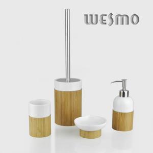 China WBC0612A Home Porcelain Bathroom Accessories Set on sale