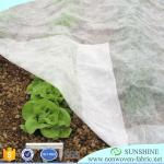 Factory price UV biodegradable pp spunbond non-woven fabric for agriculture cover weed control weed mat fruit bagging