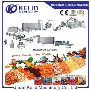 China Multi-function corn flakes Puffed corn snacks making machine on sale