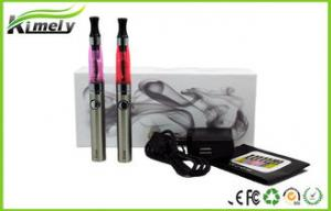 China FDA Vapor Ego E Cig With Evod Battery CE4 / H2 Clearomizer Blue on sale