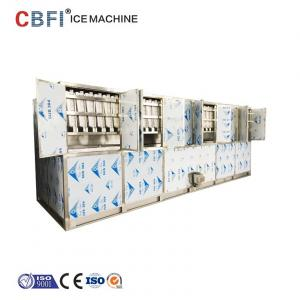 Edible Commercial Cube Ice Machine Ice Factory Used for sale – Ice