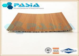 China Commercial Aluminum Honeycomb Panels Bamboo Imitation Surface Corrosion Resistant on sale